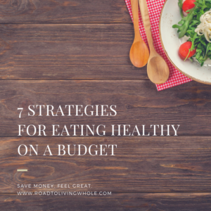 strategies for eating healthy on a budget