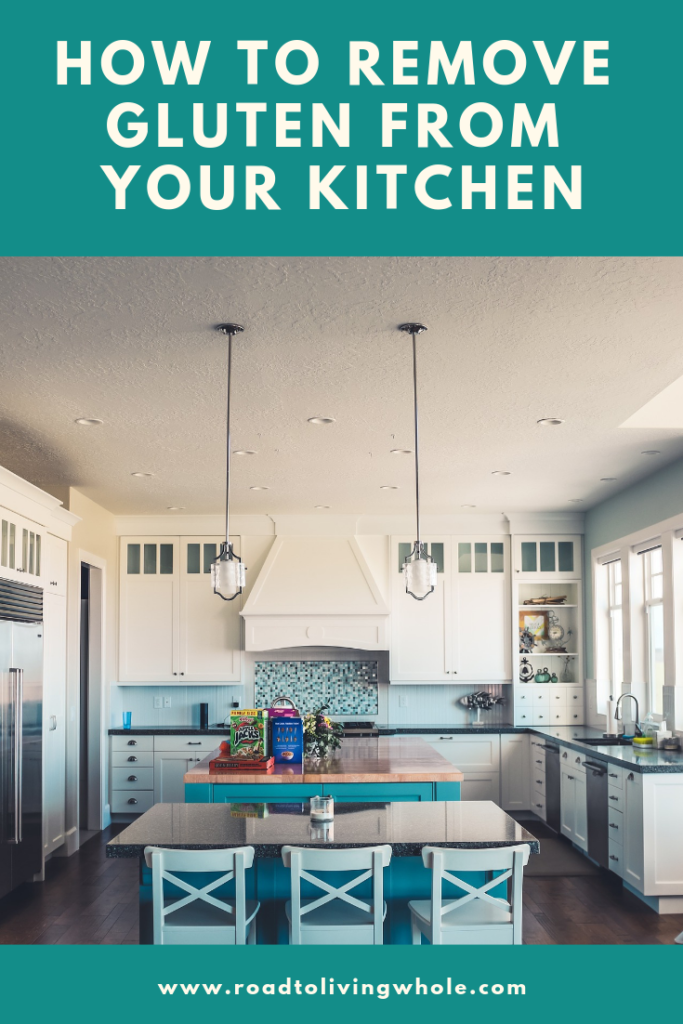How to remove gluten from your kitchen