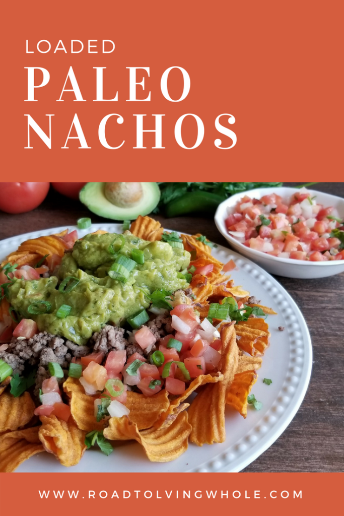 loaded paleo nachos