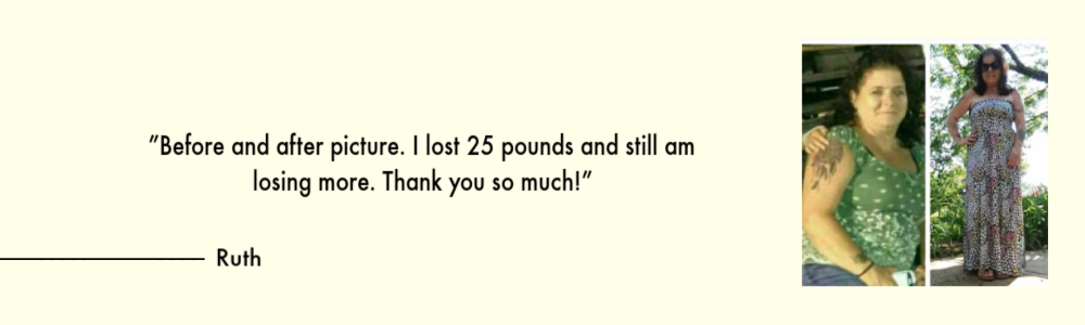 realistic eating and living testimonial 3