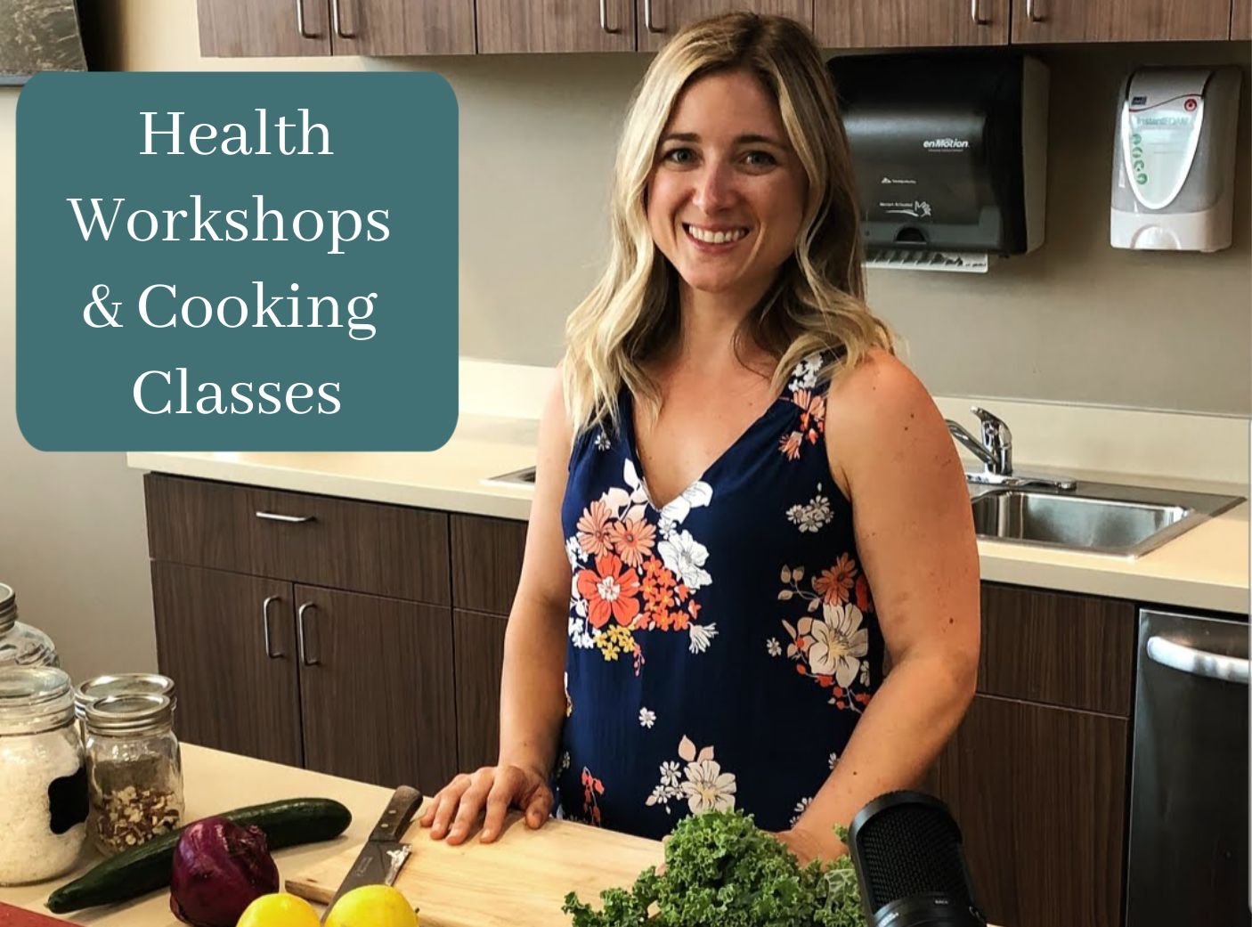 health workshops and cooking classes
