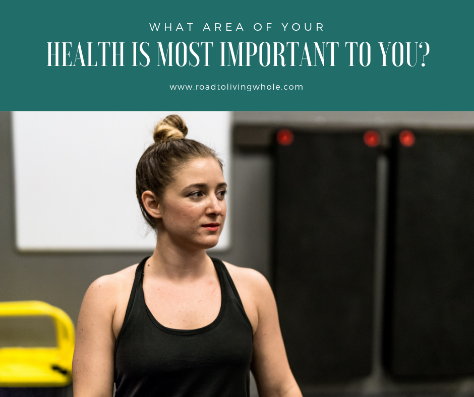 What Area Of Your Health Is Most Important To You?