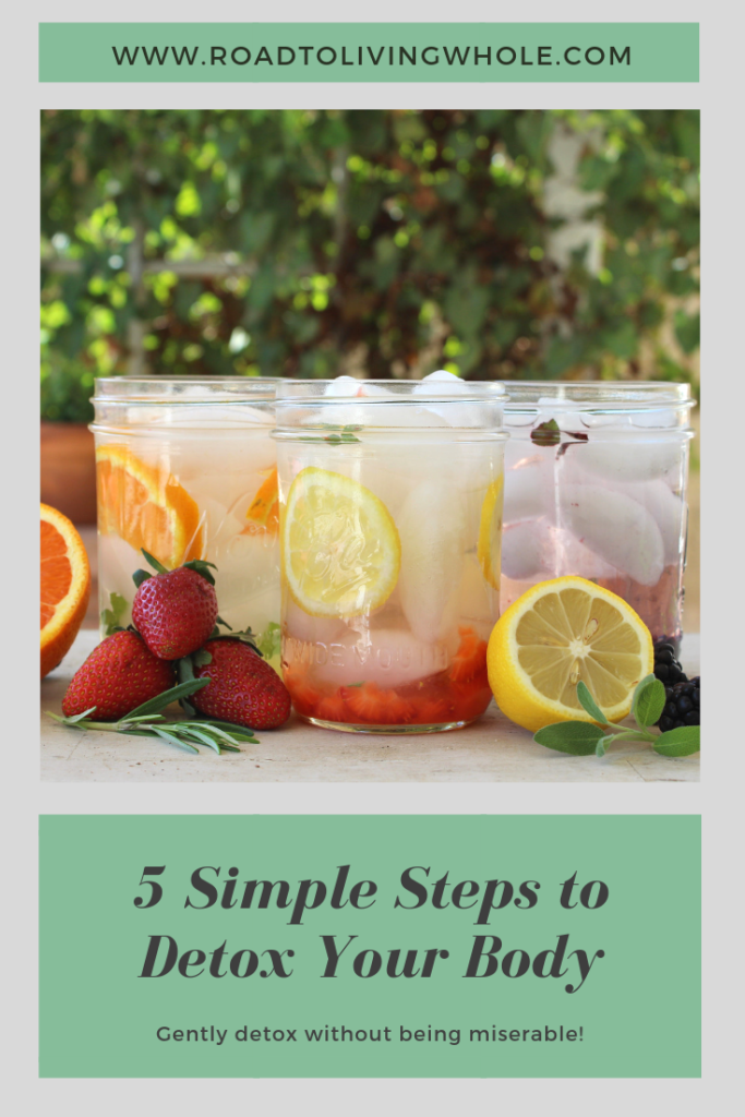 5 simple steps to gently detox your body