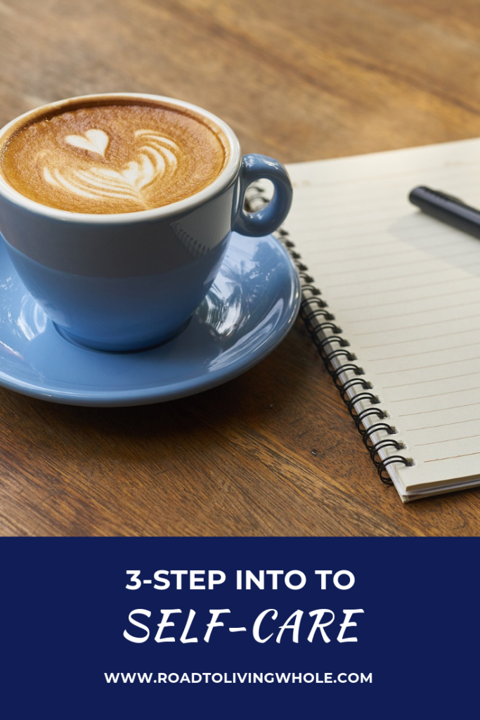 3-step intro to self-care