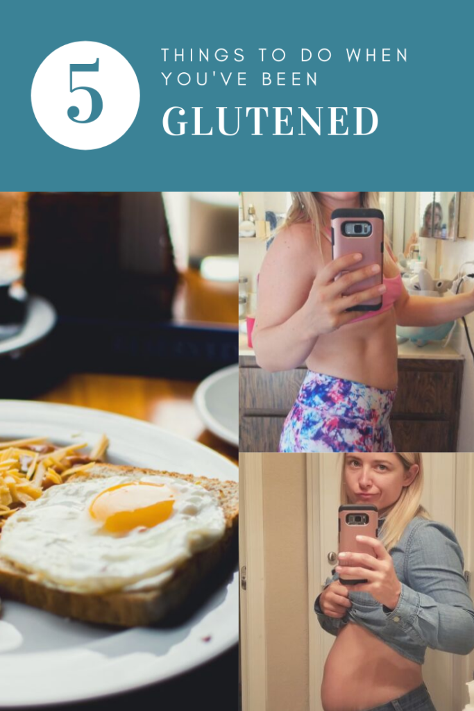5 things to do when you've been glutened