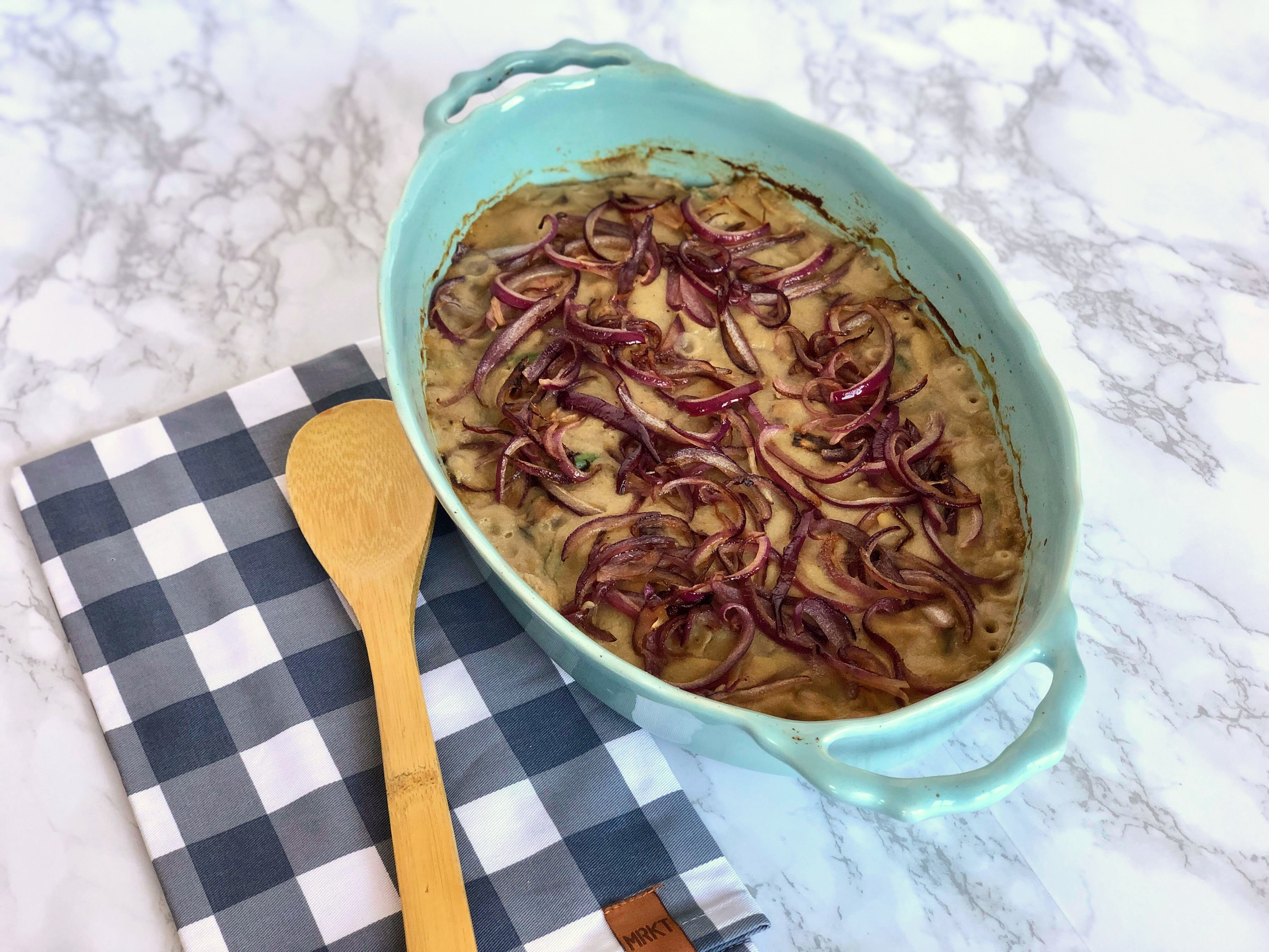 Allergy-Friendly Green Bean Casserole