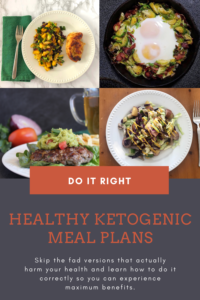 Healthy Keto meal plans for maximum health and benefits