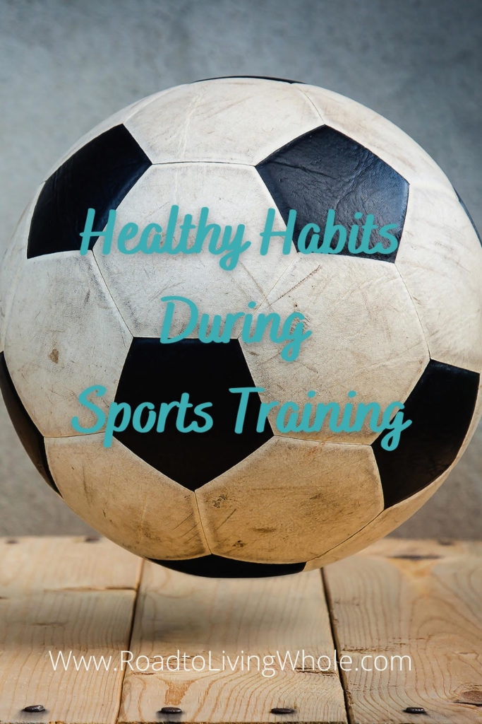 healthy habits for sports training