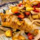 Citrus Herb Marinated Cod with a Grilled Pineapple Salsa